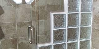 bathroom remodel utah. Shower Remodeling With Block Glass And Frameless Door Bathroom Remodel Utah
