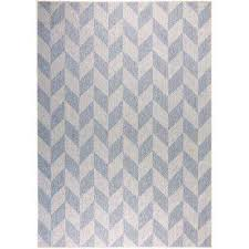 nicole miller patio country blue gray 7 ft 9 in x 10 ft 2 in indoor outdoor area rug