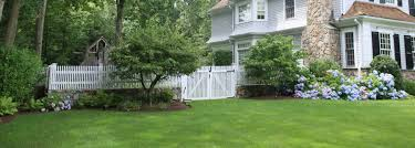 picket fence double gate. Wood-picket-fence-and-double-gate-by-atlas-outdoor-ct(2) Picket Fence Double Gate