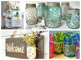 Decorating Ideas For Glass Jars Mason Jar Crafts Inspiration DIY Room Decoration Ideas 1