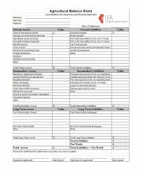Personal Assets And Liabilities Statement Template Personal Balance Sheet Template Excel Free Download And Personal