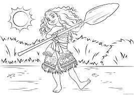 Children who are associated with moana coloring pages will probably experience less psychological issues when they are young. Vaiana Moana Coloring Pages Tv Film Moana Disney For Adults 2020 11089 Coloring4free Coloring4free Com