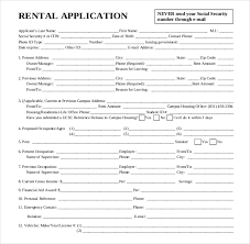Free Printable Lease Agreement For Renting A House House Rental Application Form Elegant Free Printable Lease Agreement