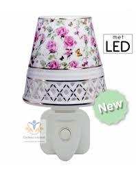 Stekkerlamp Rozen En Vlinder Led Cadeau Variant
