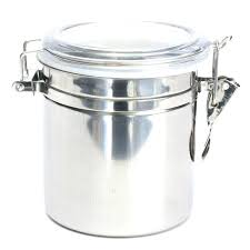 airtight containers for flour and sugar container stainless steel sealed canister coffee glass