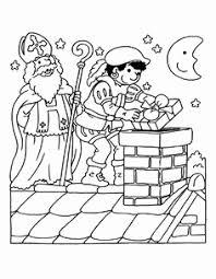 Kleurplaat Bedankt Fris 126 Beste Afbeeldingen Van Sinterklaas