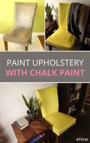 paint fabric upholstery with chalk paint tutorial