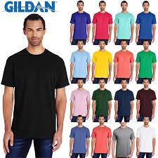Details About Gildan Plain Hammer Short Sleeve Mens T Shirt H000 100 Ring Spun Cotton T Shirt