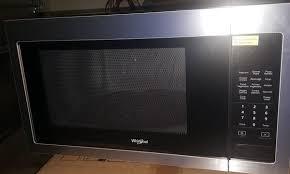 new whirlpool countertop microwave arlington tx