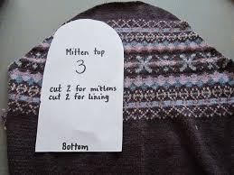 Sweater Mitten Pattern Cool Design