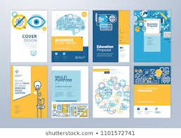 Training Report Cover Page Training Cover Page Stock Illustrations Images Vectors