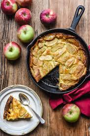 Skillet Caramelized Apple Cake from Brittany - Pardon Your French