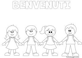 Bello Disegni Per Bambini Scuola Dell Infanzia Da Colorare