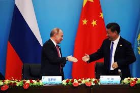 Risultati immagini per Foto presidente Cinese e Russo insieme