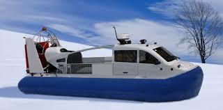 Грузовые и специальные суда на воздушной подушке Грузопассажирское судно на воздушной подушке для рыбалки