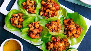 Vietnamese shrimp lettuce cup recipe ...