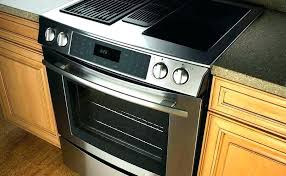 electric range top. Electric Stove Top With Downdraft Drop In Range Ventilation .
