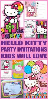 Hello Kitty Party Invitation Hello Kitty Party Invitations