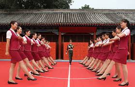 silent square dancing makes waves in chongqing ten photos from across 21 27