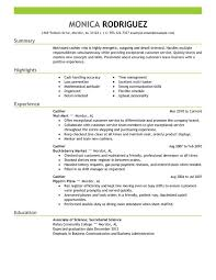 Cashier Resume Sample Professional Cashier Templates To Showcase Your Talent
