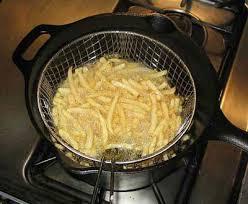 Cách chiên khoai tây