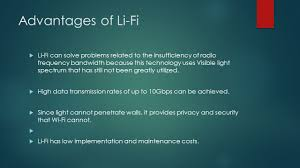 Visible Light Advantages Li Fi All About It Light Fidelity How It Will Change The