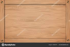 side of brown wooden crate box or frame with s stock vector