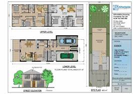 Duplex Designs For Narrow Blocks Narrow Block House Designs Brisbane Architecture In 2019