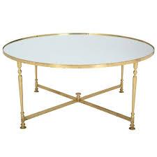 coffee table amazing gold round vintage glasetal round brass coffee table depressed design