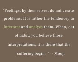 Mooji Quotes Mesmerizing Quote About Thought By Mooji