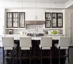 View In Gallery Dark Trim On Kitchen Cabinetry