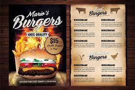 Design Fast Food Menu Fast Food Menu Flyer