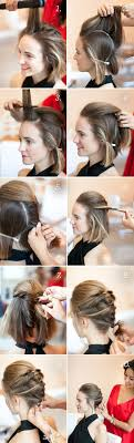 Hair Style For Medium Hair 20 easy noheat summer hairstyle tutorials for medium hair gurl 3592 by wearticles.com