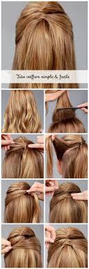 Tuto Coiffure Cheveux Longs Et Courts Tuto Coiffure Tuto Et