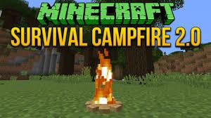 minecraft 1 8 survival campfire 2 0 fixed tutorial