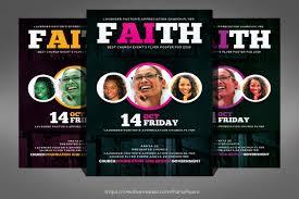 Flyers Theme Church Event Flyer
