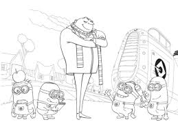 Small Picture Despicable Me Coloring Pages Of Vector Boys Coloring Pages