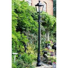 garden post. Garden Light Porto 90 Lamp Post Black Green D