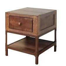 gold end table. International Furniture Direct Urban Gold End Table With 1 Drawer - Item Number: IFD560END A