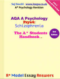 psya schizophrenia predictions aqa psychology aqa psychology psya4 schizophrenia model essay answers