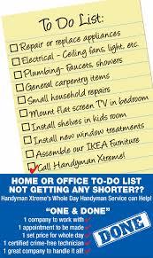 Household Maintenance List Residential Repair Services Handyman Xtreme Llc