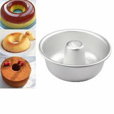 details about chiffon cake mold diy donut pan mould baking tin ring anodized aluminum alloy