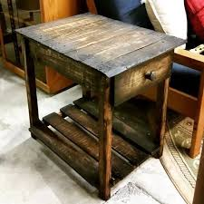 furniture making ideas. pallet end table furniture making ideas