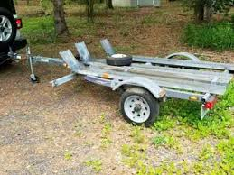 motorcycle trailer 3 rail open 3 rail