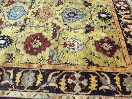 pottery barn baxter persian style handwoven rug 8 x 10 new authentic pure wool