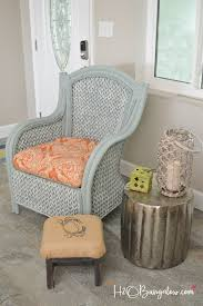painting wicker furnitureHow To Paint Wicker Furniture Quickly and Easily  H20Bungalow