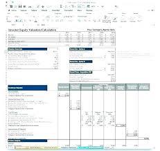 Financial Model Excel Spreadsheet Real Estate Financial Model Template