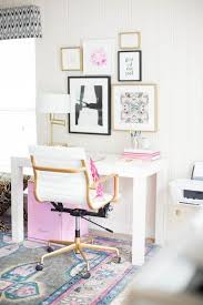 home office decorating ideas nyc. Exellent Decorating 13 Kate Spade New YorkInspired Office Decor Ideas For The HBIC Via Brit   Co And Home Decorating Nyc I