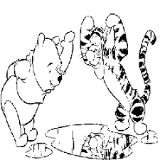 Winnie The Pooh De Poeh Kleurplaten En Spelletjes