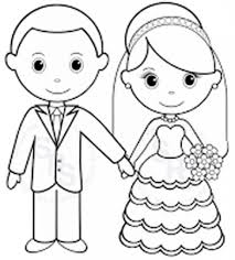 Printable Personalized Wedding Coloring Activity Book Favor Kids 8 5